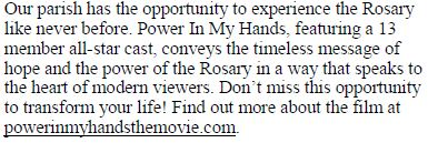 Power in my Hands A Movie for our times